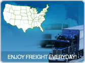 Truck drivers check out our freight!